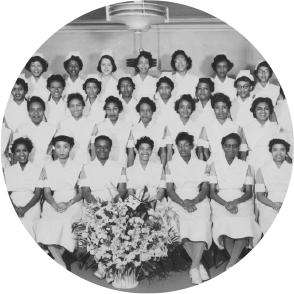 Homer G. Phillips Hospital School of Nursing, 1957